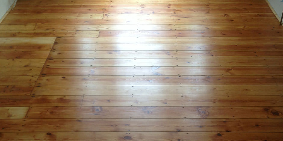 After-LOUNGE/DINING OILED PINE BOARDS IN WOOD GREEN