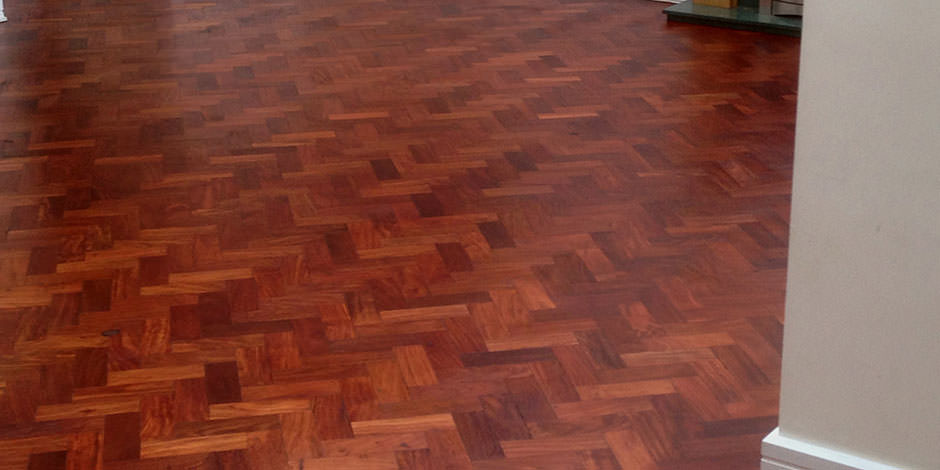 After-LOUNGE OILED MERBAU PARQUET FLOORING IN FINSBURY