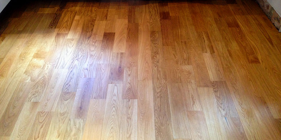 After-LOUNGE OILED OAK FLOOR IN FINCHLEY