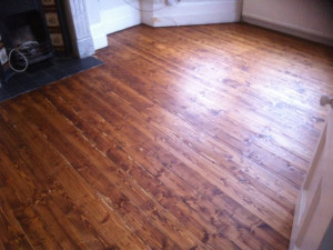 Floor Staining & Staining Hardwood Floors North London